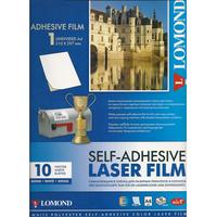 Самоклеющаяся белая пленка для лазерных принтеров LOMOND A4, 10л