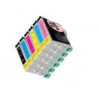 Картриджи для Epson T0811-T0816, комплект 6 шт. / EasyPrint