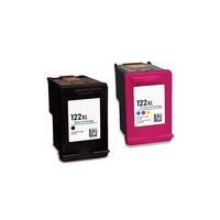 Картриджи для HP Deskjet 1050, 2050, 500 (Комплект из 2 шт) №122