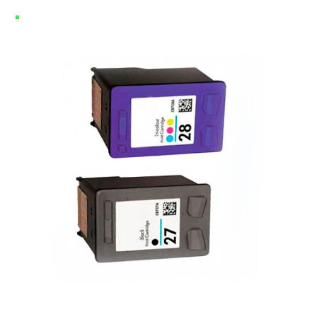 Картриджи для принтера HP 27 (Комплект из 2 шт) №27 / №28