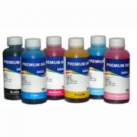 Комплект водных чернил для Epson L800,  Epson L805,  Epson L810,  Epson L850, 100 мл х 6 шт
