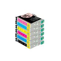 Картриджи для Epson Stylus Photo T50, R270, R290 и др. (Комплект из 6 шт)