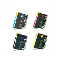 Картриджи для Epson CX6400, CX6600... (Комплект 4 шт)