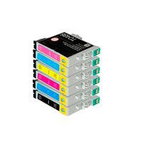 Картриджи для Epson Stylus Photo R200/R220/R300/RX600/R340 и др. (Комплект из 6 шт)