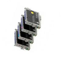 Картриджи для Epson RX520, комплект 4 шт