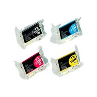 Картриджи для Epson Stylus Photo CX5900, CX3900 и др. (Комплект из 4 шт)