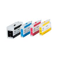 Перезаправляемые картриджи / ПЗК / для HP T520, комплект 4шт