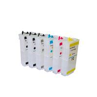 Перезаправляемые картриджи для HP №72 с чипами для HP DesignJet T610, T770, T790, T1100, T1120, T1200, T2300