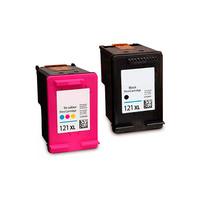 Картриджи для HP Deskjet F4583, C4683, C4783 (Комплект из 2 шт) №121 (№121b)