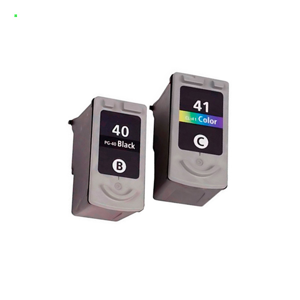Картриджи для Сanon iP1800, iP1900, iP2200, MP190 (Комплект из 2 шт) PG-40 / CL-41