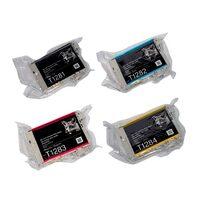 Картриджи для Epson Stylus Photo SX420W, SX425W, BX305F и др. (Комплект из 4 шт)