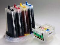 СНПЧ для Epson CX5900, CX6900F, CX7300, C79 и др. с чипами (CISS-C79 new)