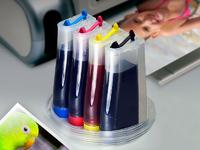 СНПЧ для принтера HP DeskJet 2130 (K7N77C), 2620 и др.