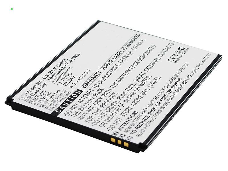 Lenovo A6010 батарея (BL242)