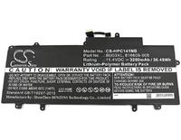 Аккумулятор HP  Chromebook 14 G4, 816609-005, BU03XL ( CS-HPC141NB)