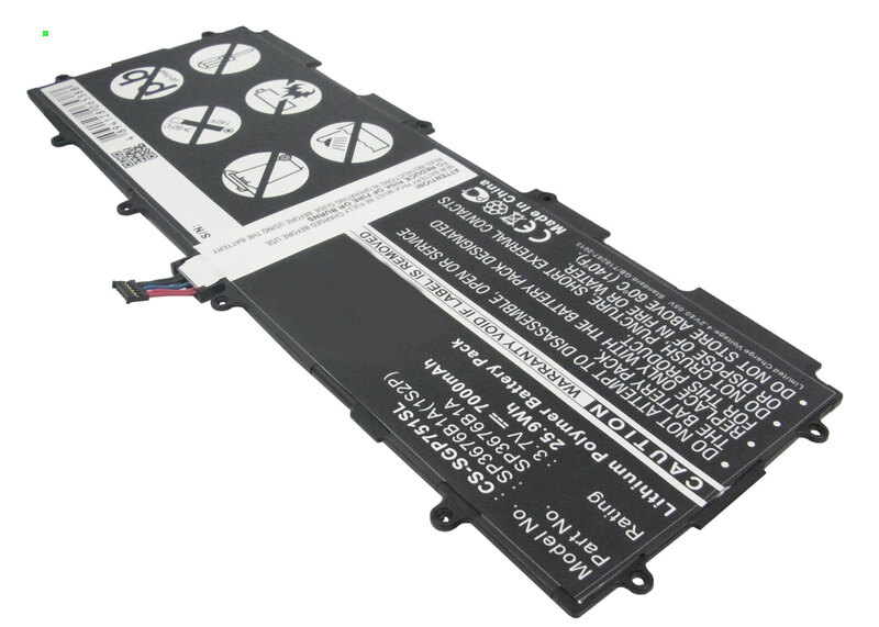 Аккумулятор для Samsung Galaxy Tab 10.1 (SG-P751SL) SP3676B1A