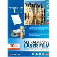 Самоклеющаяся пленка для лазерных принтеров LOMOND A4, 10л
