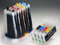 СНПЧ Epson T40W / TX200 / TX209 / TX210 / TX219 / TX300F... с чипами