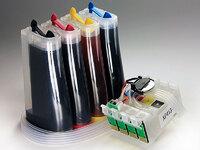 СНПЧ для Epson XP-303, XP-306, XP-403, XP-406 и др. с чипами (CISS-XP313)