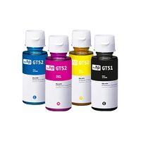 Чернила для HP GT51 / GT52, DeskJet GT 5820 и др. / комплект 4 цв.
