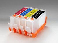 Перезаправляемые картриджи / ПЗК / для HP 3525 Deskjet Ink Advantage, комплект 4шт