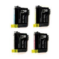 Картриджи для Epson Stylus Photo XP-103, XP-203, XP-207, XP-303 и др. (Комплект из 4 шт)
