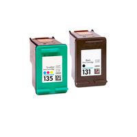 Картриджи для HP K7103, 2573 (Комплект из 2 шт) №131 / №135