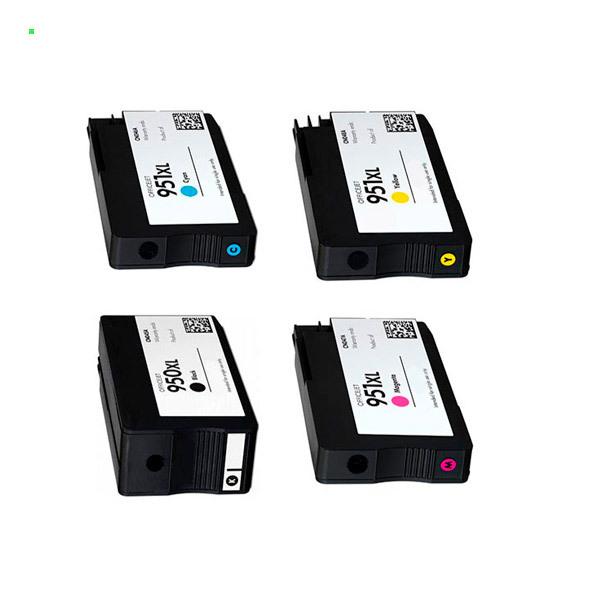 Картриджи принтера HP 8610 (Комплект из 4 шт) №950 / 950XL / 951