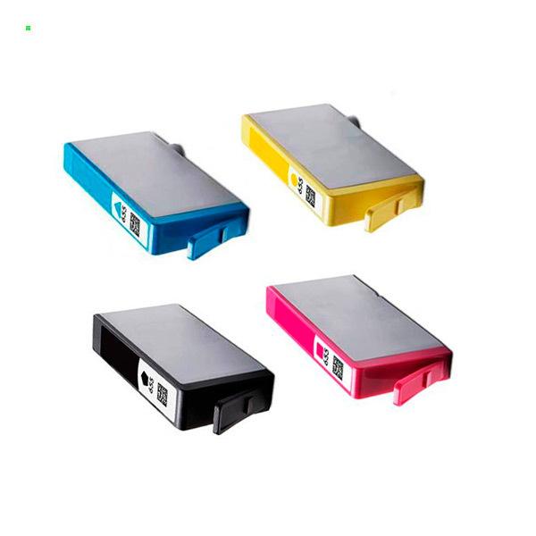 Картриджи для HP 5525 Deskjet Ink Advantage, комплект 4шт