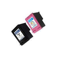 Картриджи для HP DeskJet 1050, комплект 2шт / Т2