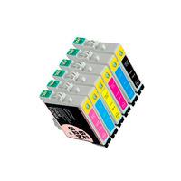 Картриджи для Epson Stylus Photo R390, комплект 6шт / Т2