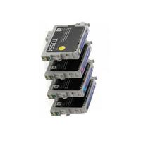 Картриджи для Epson Stylus Photo RX520, комплект 4шт / Т2