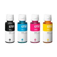 Чернила для HP GT 5810 / 5820 DeskJet / GT51, комплект 4 цвета
